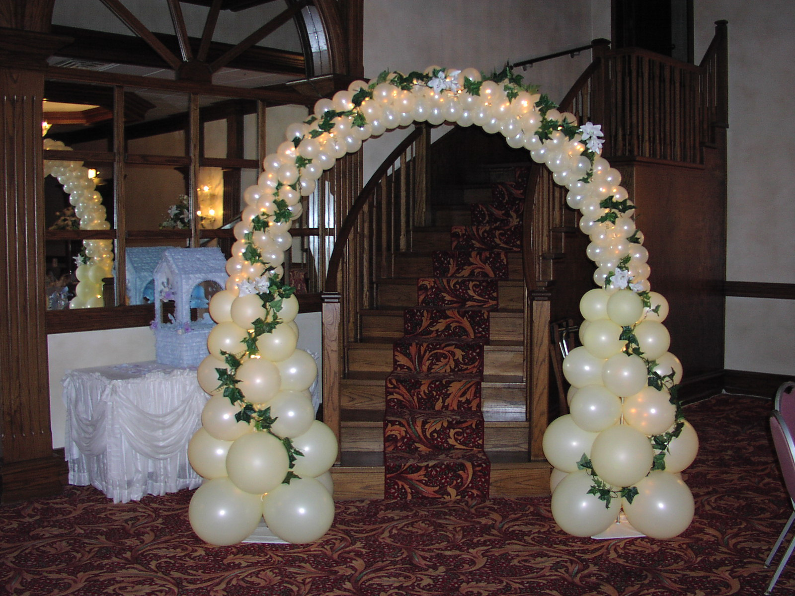 for Balloon decoration for weddings