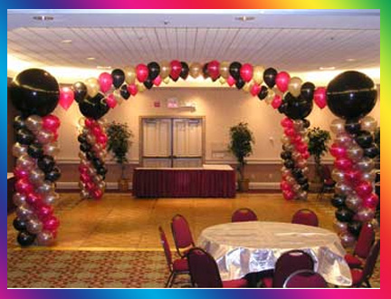 for Balloon dance floor decoration